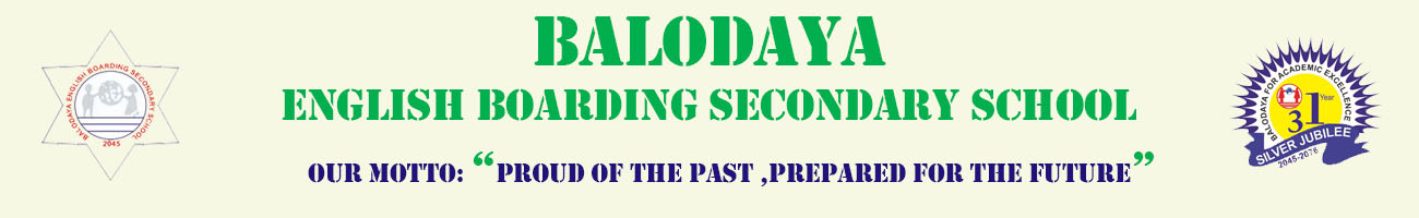 Balodaya English Boarding Secondary School